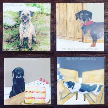 The Little Dog Greetings Cards