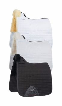 LeMieux Lambswool Dressage Square Half Lined