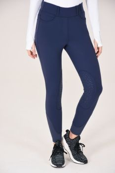 Noble Outfitters Balance 5 Pocket Riding Tights - Navy
