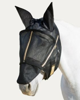 Noble Outfitters Guardsman Fly Mask With Ears & Removable Nose
