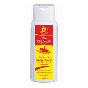 Fly Away Midge Away Citronella Free Cream - 400ml