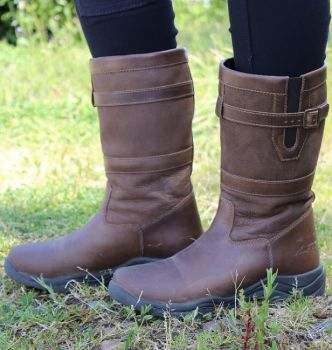 Mark Todd Short Country Boots - Brown