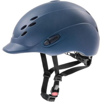 Uvex Onyxx Blue Matt Children's Riding Hat