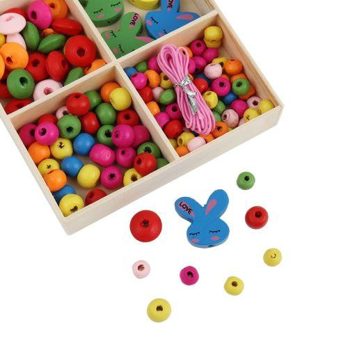 Rabbit Wooden Bead Kit