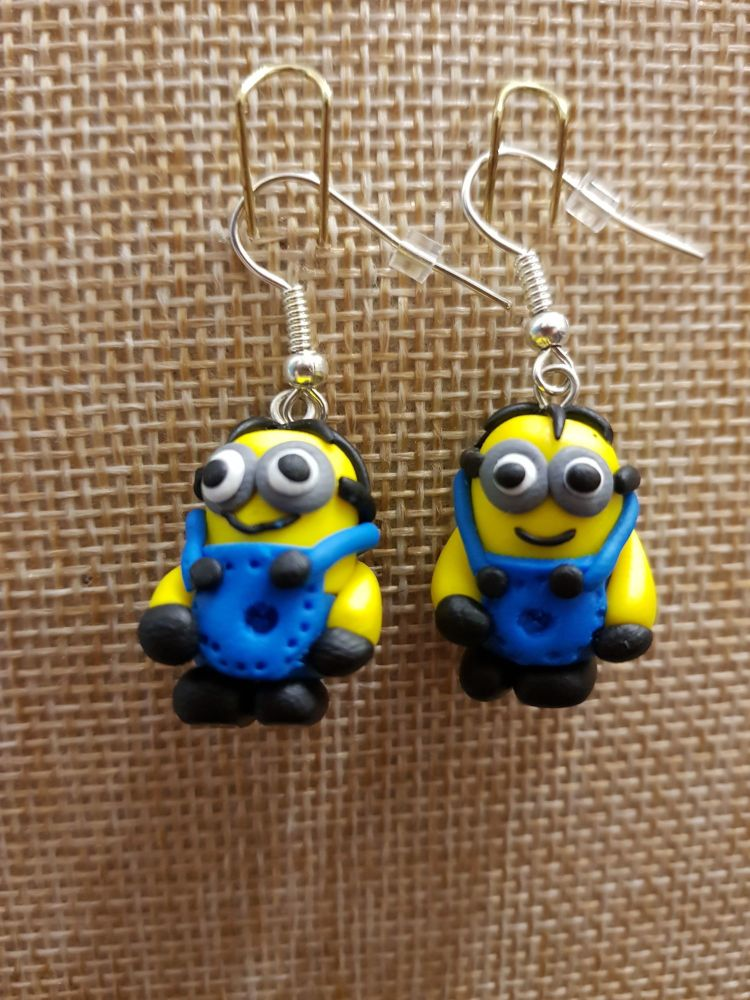 Minion Inspired Earrings