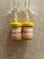 Sunpat Peanut Butter Inspired Earrings