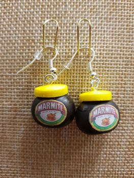 Marmite Inspired Earrings