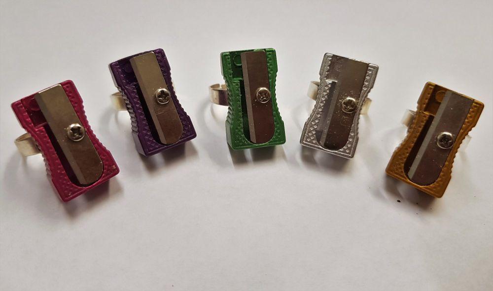 Pencil Sharpener Ring