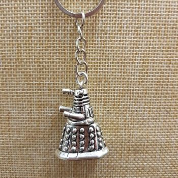 Dalek Inspired Key Ring