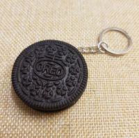 Oreo Biscuit Keyring