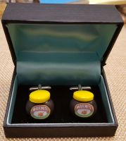 Marmite Cuff Links