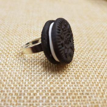 Oreo Inspired Ring