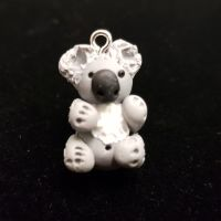 Koala Bear Polymer Clay Bead / Charm Price From: