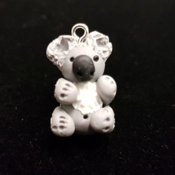 Koala Bear Polymer Clay Bead / Charm Price From: