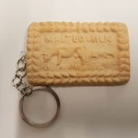 Malted Milk Biscuit Keyring