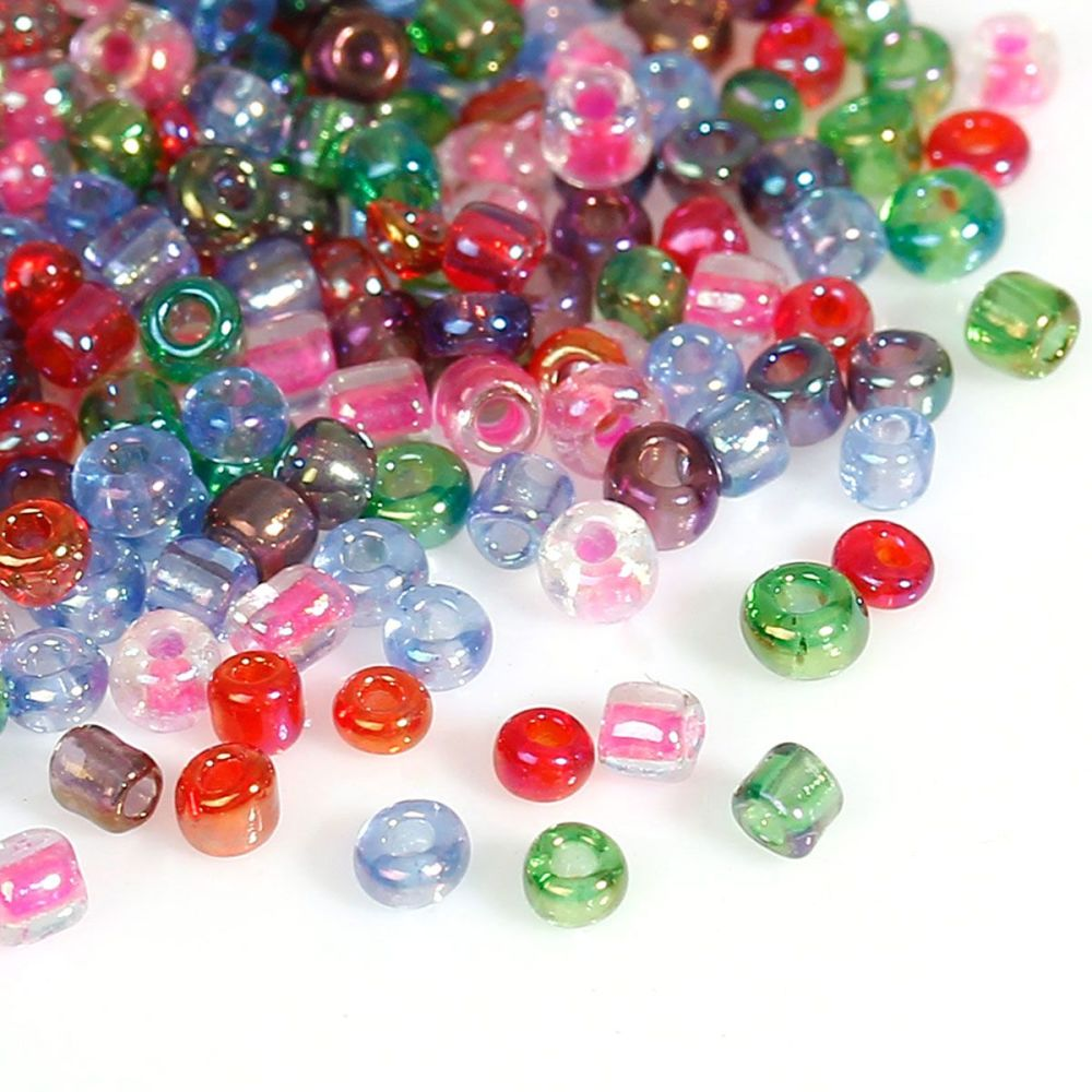 Glass Seed Beads - Mixed - Size 10/0