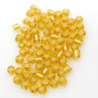 Glass Seed Beads - Smoke Yellow  - Size 10/0