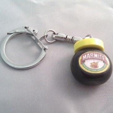 Marmite Key Ring