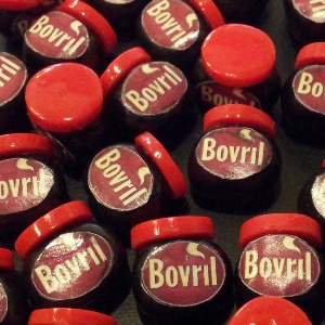 Bovril Bead / Charm 15 mm x 15 mm approx