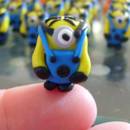 Minion Despicable Me Bead / Charm