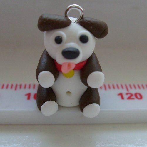 Dog Polymer Clay Bead / Charm Price From: