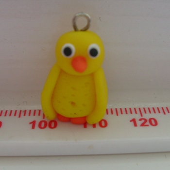 Easter Chick Polymer Clay Bead / Charm. Price From: