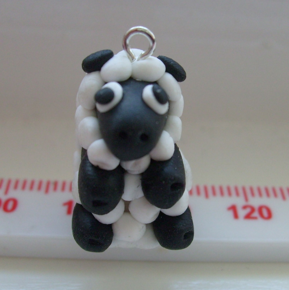 Sheep Polymer Clay Bead / Charm Price From: