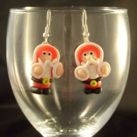 Christmas Santa Earrings