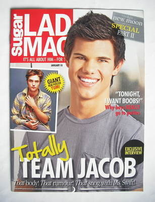 Lad magazine - Taylor Lautner cover (January 2010)