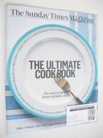 <!--2013-11-17-->The Sunday Times magazine - The Ultimate Cookbook cover (1