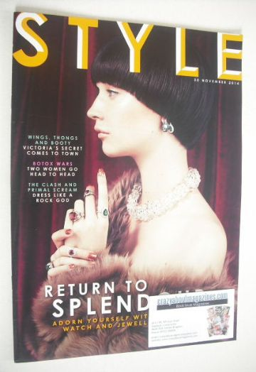 <!--2014-11-30-->Style magazine - Return To Splendour cover (30 November 20