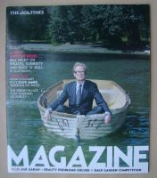 <!--2007-05-07-->The Times magazine - Bill Nighy cover (12 May 2007)