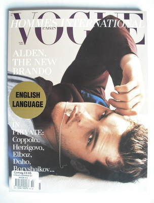<!--2009-12-->Paris Vogue Hommes International magazine - Winter 2009 - Ald