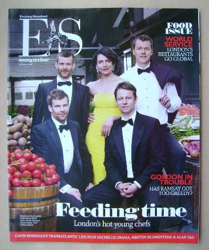<!--2008-06-13-->Evening Standard magazine - Feeding Time cover (13 June 20