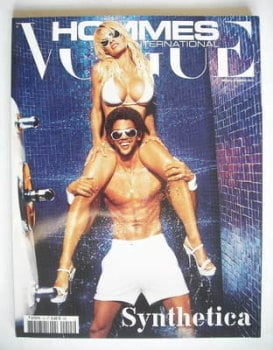 Paris Vogue Hommes International magazine - Spring/Summer 2004 - Pamela Anderson cover