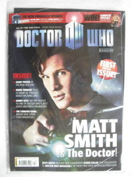 Doctor Who magazine - Matt Smith cover (3 February 2010 - Issue 1)