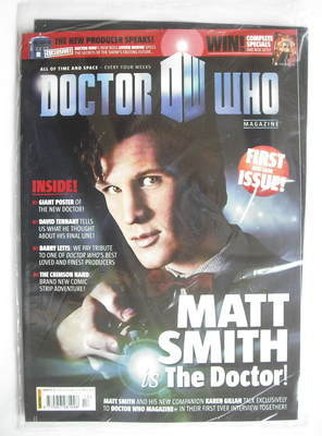 <!--2010-02-03-->Doctor Who magazine - Matt Smith cover (3 February 2010 -