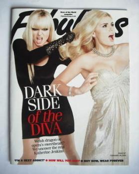 Fabulous magazine - Katherine Jenkins cover (28 February 2010)