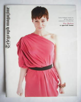 <!--2010-02-20-->Telegraph magazine - Carey Mulligan cover (20 February 201