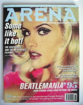 Arena magazine - November 1995 - Anna Nicole Smith cover