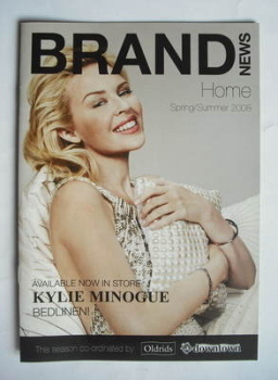 Brand News brochure - Kylie Minogue cover (2008)