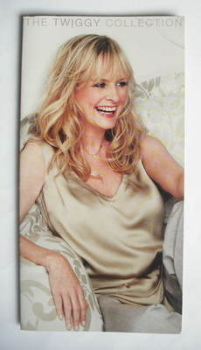 The Twiggy Collection fold-out bed linen brochure (2008)