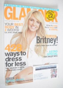 Glamour magazine - Britney Spears cover (January 2009)