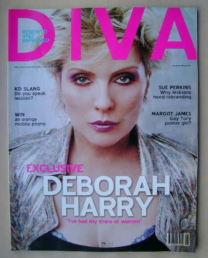 <!--2004-06-->Diva magazine - Deborah Harry cover (June 2004 - Issue 97)