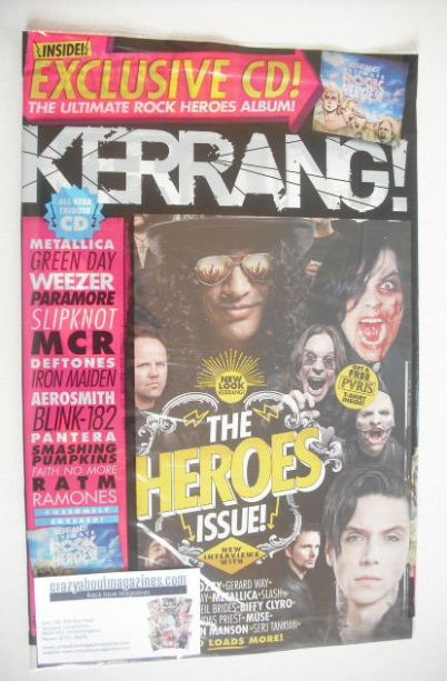 <!--2015-06-06-->Kerrang magazine - The Heroes Issue (6 June 2015 - Issue 1