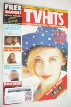 TV Hits magazine - October 1989 - Kylie Minogue cover (Issue 2)