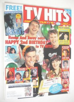 TV Hits magazine - September 1991 - Home And Away cover (Issue 25)
