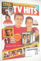 <!--1991-03-->TV Hits magazine - March 1991 - Mark Stevens and Kristian Schmid cover (Issue 19)