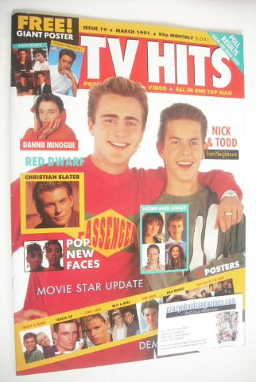 <!--1991-03-->TV Hits magazine - March 1991 - Mark Stevens and Kristian Sch