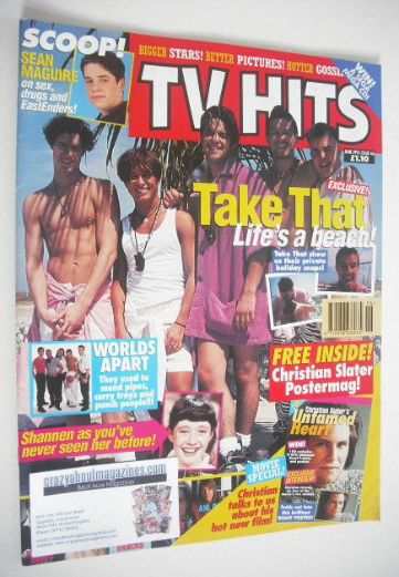 <!--1993-06-->TV Hits magazine - June 1993 - Take That cover (Issue 46)